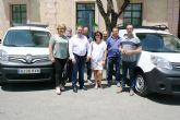 Se adquieren tres nuevos vehículos-furgonetas para el Servicio Municipal de Aguas con el fin de mejorar y ampliar la flota