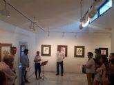Rogelio Balibrea expone su obra 'Captación del color' en Puerto Lumbreras