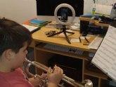 La escuela de m�sica y la Agrupaci�n Musical de Alhama mantienen su actividad durante el estado de alarma