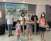 Cuatro niñas ganan los premios del concurso 'San Javier desde tu ventana'