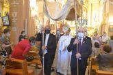 Una misa y una procesión por el interior de la iglesia de San Juan, únicos actos en el Día Grande del Patrón, Corpus Christi