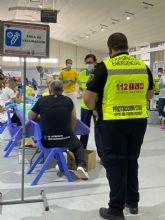 2.335 vecinos del municipio de Torre Pacheco, de 40 a 49 anos, reciben su vacuna contra la COVID-19