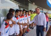 Recepción oficial a los tres equipos del Atlético Torreño ascendidos a Primera División