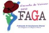 FAGA lleva a cabo en San Pedro del Pinatar su Escuela de verano