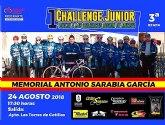 Las Torres de Cotillas será la etapa final del campeonato regional junior de ciclismo