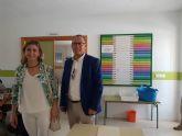 La Alcaldesa de Molina de Segura visita el servicio gratuito de Comedor Escolar de verano para menores cuyas familias carecen de recursos