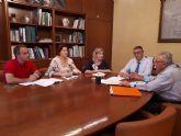La Alcaldesa de Molina de Segura se reúne con el Presidente de la Confederación Hidrográfica del Segura para dar un nuevo impulso al plan contra las avenidas extraordinarias y la limpieza de ramblas