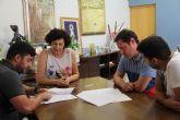 El Club Deportivo Lumbreras firma un nuevo convenio de colaboración con el Ayuntamiento de Puerto Lumbreras.