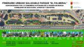 El Jard�n de El Palmeral estrena un itinerario saludable de dos recorridos