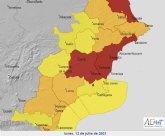 El episodio de intenso calor llega ma�ana a la Regi�n de Murcia con temperaturas extremas