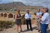 Fomento reforzará la seguridad del puente sobre la rambla de Las Moreras en Mazarrón