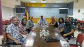 Reuni�n en la Delegaci�n del Gobierno para abordar el incremento de puestos de venta ilegal