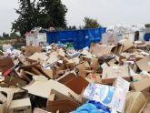 Los escombros de obras menores, los voluminosos, maderas y electrodom�sticos son los residuos dom�sticos m�s depositados en el ecoparque municipal durante el 2018