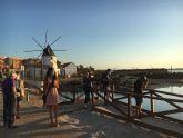 Los talleres de fotografía permiten a sus participantes descubrir los secretos del amanecer y anochecer en el Mar Menor