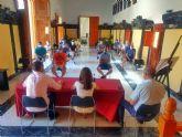 El Ayuntamiento de Caravaca se reúne con vendedores del mercado