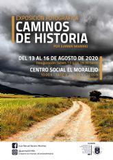 La exposición ´Caminos de historia´ muestra la riqueza del patrimonio natural del campo de Caravaca y pone en valor la actividad agrícola y ganadera que en él se desarrolla