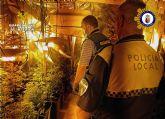 Desmantelado un activo punto de producción y venta de drogas, en Calasparra