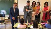 Alumnos y alumnas de Educación Infantil y Primaria de Torre-Pacheco empiezan el curso escolar