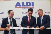 La cadena de alimentación ALDI amplía superficie y plantilla con la reubicación de su tienda  en San Javier