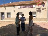 Visitan el colegio de Los Meroños, en la apertura del curso escolar