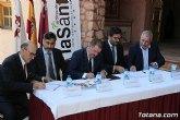 El director general del Instituto de Turismo asiste a la toma de posesión del Hotel de La Santa por parte de sus nuevos gestores, la empresa Hoteles de Murcia