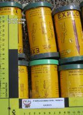 La Guardia Civil desactiva diverso material explosivo hallado en una finca de Jumilla