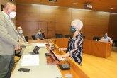 Toma posesión del acta de concejal de la Corporación municipal, Rosa Giménez Collazos, del Grupo Municipal VOX; sustituyendo a su anterior portavoz