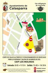 El Ayuntamiento de Calasparra lanza la campaña VUELVE AL COLE ANDANDO