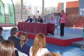La consejera de Educación asiste al acto de inicio del curso escolar del Centro de Educación Secundaria Vega Media de Alguazas
