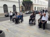 Los mayores del Centro de D�a visitan Cartagena
