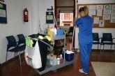 Se adjudica a la mercantil Agrupación Díez de Mula, SL el nuevo servicio de limpieza de interiores en centros e instalaciones municipales de Totana