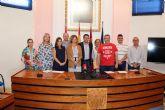 El Ayuntamiento de Alcantarilla conmemora el once de octubre, Día Internacional de la Niña, con la lectura de una declaración institucional por todos los grupos políticos