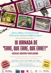La Plaza Cristo Rey acoge, el jueves 14 de octubre, un taller de decoración de calles con material reciclado, dentro las III Jornadas 'Erre, que Erre, que Erre'