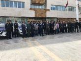 La Policía Local de San Javier estrena uniforme y nuevos vehículos en la celebración de su patrón San Gregorio Magno