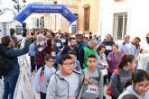 Decenas de jóvenes marchan por Mazarrón por el Día Internacional de la Discapacidad