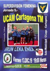 UCAM Cartagena-Irún Leka Enea, el liderato en juego