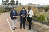 López Miras: 'La rehabilitación del puente de hierro de Archena es un hito histórico que mejorará la movilidad y el patrimonio municipal'