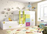 En primavera, Menamobel propone llenar de color la habitación de los niños para potenciar su energía