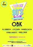 Acceso gratuito para sanitarios de Huesca al concierto 'MOLAN LOS 90'
