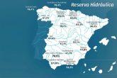 La reserva hídrica española se encuentra al 60,9 por ciento de su capacidad