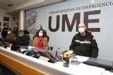 Margarita Robles agradece a la UME su trabajo en la Operación ´Balmis´