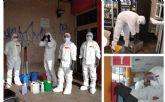 Tot Net continúa su labor de higiene y desinfección para frenar la propagación del Coronavirus