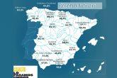 La reserva hídrica española se encuentra al 64 por ciento de su capacidad