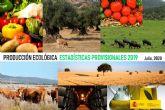 La superficie ecológica crece el 4,8 % en 2019 y se sitúa en 2,35 millones de hectáreas