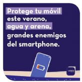 Cuatro consejos de fácil aplicación que salvarán el smartphone de los peligros del verano
