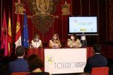 Yolanda Díaz asiste a la presentación de Toledo como Capital Europea de la Economía