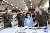 Robles defiende que la modernización de las Fuerzas Armadas y la creación de puestos de trabajo deben estar vinculadas