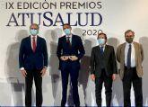 Juan Antonio Á�lvaro de la Parra: 'Este premio avala nuestro compromiso en la lucha contra la Covid'