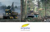 ARPANA FORMACIÓN FORESTAL amplia su parque de maquinaria y mantiene su colaboración con la consultoría CEDEC