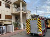 Incendio de una vivienda de Alhama
